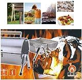 MQ BBQ Edelstahl Klappgrill Koffergrill Gartengrill Standgrill Grill
