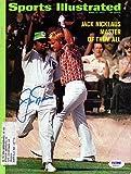 Jack Nicklaus Signed Sports Illustrated Magazine - PSA/DNA Authentication - PGA Golf Autographs