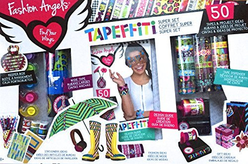 FASHION ANGELS TAPEFITTI SUPER SET - 1