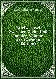Briefwechsel Zwischen Gleim Und Ramler, Volume 244 (German Edition)