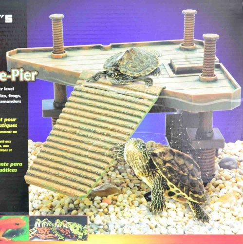 Terasse plate forme le rampe chelle pour tortue grenouille reptiles aquarium - Aquarium complet pour tortue d eau ...