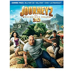 Journey 2: The Mysterious Island (Blu-ray 3D / Blu-ray / DVD / UltraViolet Digital Copy)