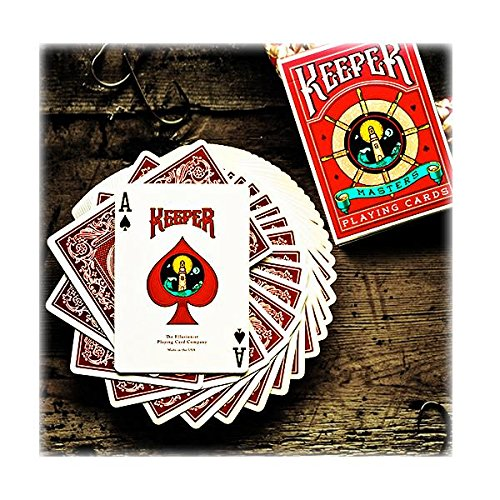 Carte Keeper Deck red deck by Ellusionist - Marked