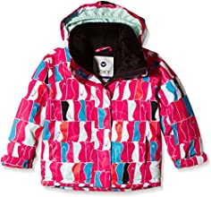 Roxy Mini Jetty Veste Fille Penguin FR : 5 ans (Taille Fabricant : 4/5)
