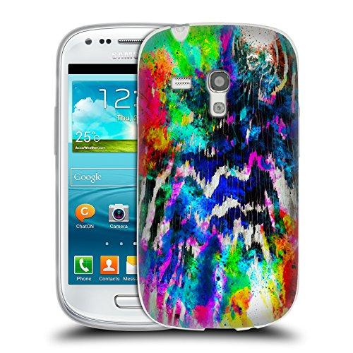 ufficiale-caleb-troy-zebra-in-technicolor-vivido-cover-morbida-in-gel-per-samsung-galaxy-s3-iii-mini