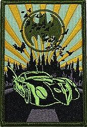 Batman DC Comics Batmobile Patch