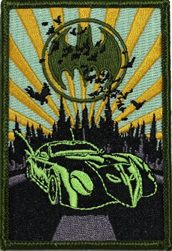 Batman DC Comics Batmobile Patch