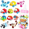 Baby Pull-Back Cars in Animal Shapes Cuddly and Lovely vehicles