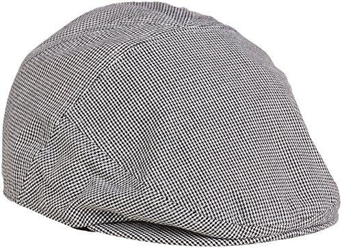lyle-and-scott-mens-plain-flat-cap-black-one-size