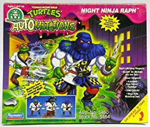 Amazon.com: Vintage 1993 TMNT Ninja Turtles AutoMutations Night