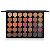 The Beauty Box Artist Eyeshadow Palette | 35 Color Blendable Pigmented Nude Warm Eyeshadow | Matte and Shimmer Makeup for Every Skin Tone Cosmetics | Espresso Collection (Color: Espresso Collection)