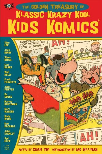 comic books for kids:Golden Collection of Krazy Kool Klassic Kids' Komics Images