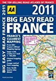 AA Publishing Big Easy Read France 2011 (Road Atlas)