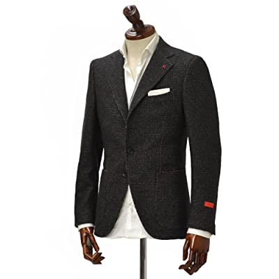 ISAIA シングルジャケット 84400/450 8C SAILOR wool BROWN