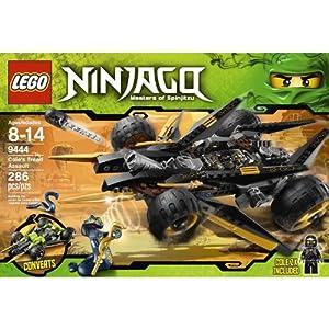 Amazon.com: LEGO Ninjago Cole's Tread Assault 9444 (age: 8 - 14 years