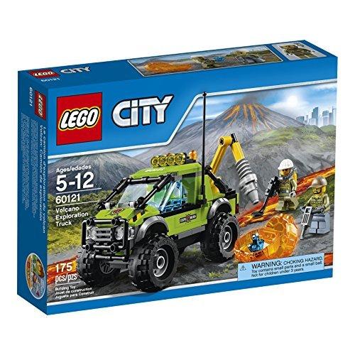 LEGO City Volcano Explorers 60121 Volcano Exploration Truck Building Kit (175 Piece) by LEGO