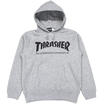 THRASHER MAG HOODED SWEAT(GRAY)