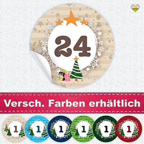 24-Adventskalender-Zahlen-11-Motive-Romantic-Snow-Dekor-Schrift-Butterkeks-Aufkleber-Etiketten-Sticker-Rund--24-mm-Creme-Beige-FA0013-01-Die-ideale-Ergnzung-zu-DIY-Adventskalender-zum-selbst-Befllen-u