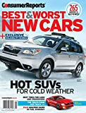 Consumer Reports Best and Worst New Cars 2015