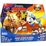 Spin Master How To Train Your Dragon Playset Dragon Attack With Deadly Nadder
