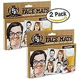 2x Gentlemen's Club Face Mats, Face Coaster (2 PACKS OF 20)