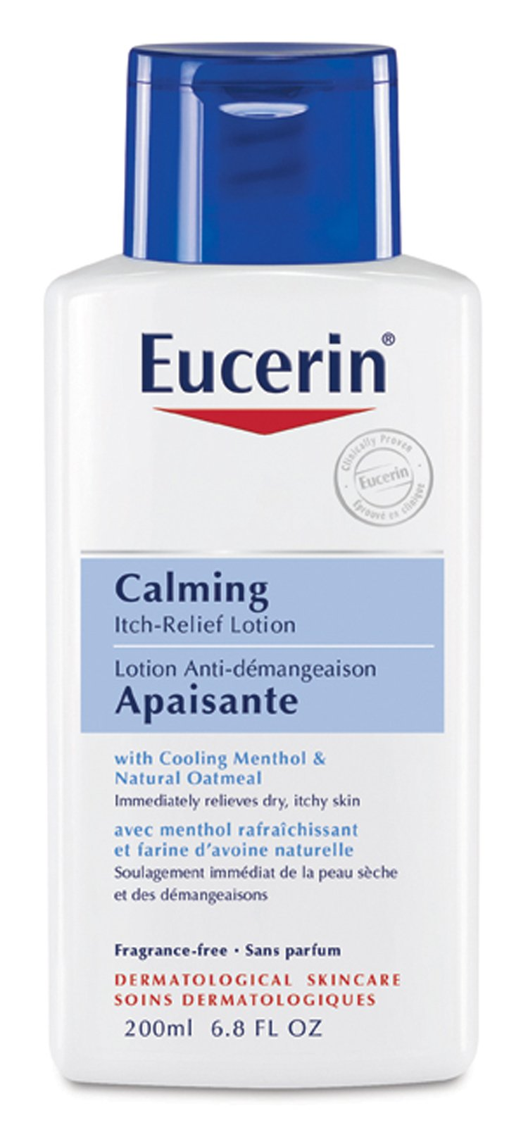 Eucerin Calming Itch Relief Treatment 6.8 oz Lotion