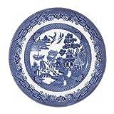 Churchill Blue Willow Plate 8