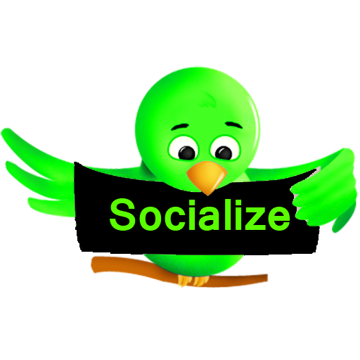 Socialize (Green) for Twitter