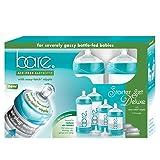 Bittylab - Bare Air-Free Feeding System, Easy Latch Nipple For Bottle-Fed Babies - Starter Set (Tamaño: Starter Kit)