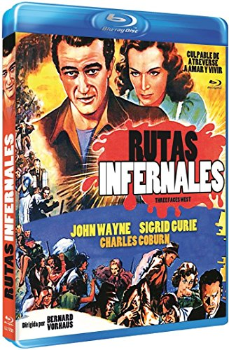 Rutas Infernales (Three Faces West) - Audio: English, Spanish - All Regions