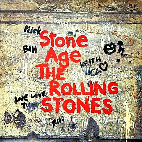 Stone Age - Japan pressing without OBI strip by The Rolling Stones, Mick Jagger, Brian Jones, Keith Richards and Charlie Watts