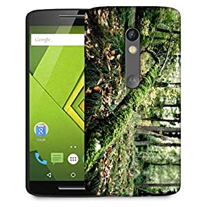 Snoogg Fallen Tree Designer Protective Phone Back Case Cover For Moto G 3rd Generation