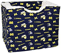Pampered Pets The University of Michigan Collection Pet Car Seat with The Wedge, Medium