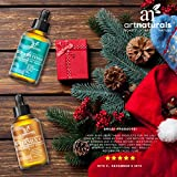 Art Naturals Organic 20% Vitamin C Serum 1.0 oz & 2.5% Vitamin A (Retinol) Serum 1.0 oz - Holiday Gift Set - Best Anti Wrinkle & Dark Circle Remover (Morning & Night Anti Aging Therapy)
