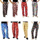 Disney Variety Juniors Teen Womens Fleece Pajama Lounge Pants