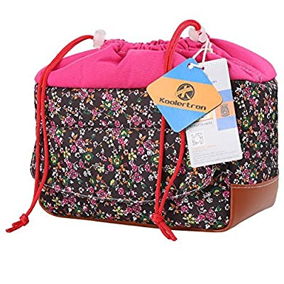 Koolertron Women Waterproof Shockproof Partition Padded Camera Bags SLR DSLR TLR Insert Protection Case For DSLR Shot Or Flash Light Canon5D,7D,50D,60D,Nikon D60,D90,And So on