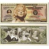 Marilyn Monroe $Million Dollar$ Novelty Bill Collectible