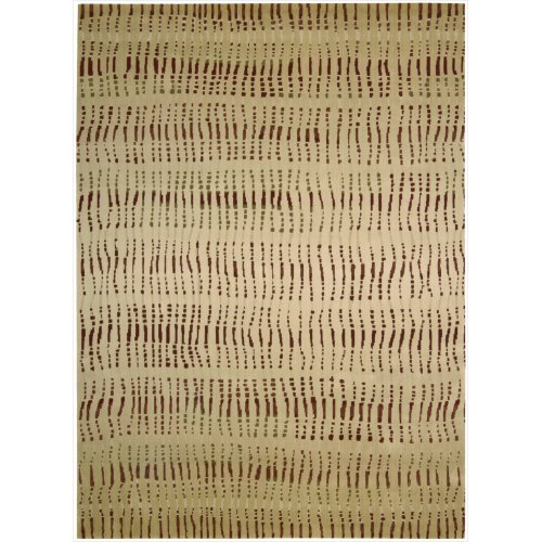 Calvin Klein Home Loom Select LS03 Rectangle Rug, 7.9-Feet by 10.10-Feet, Camel