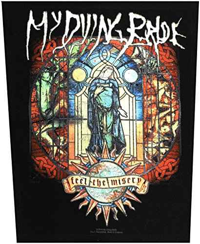 MY DYING BRIDE schiena in gomma patch in gomma Miseria FEEL THE back