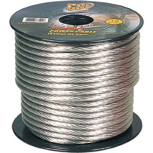 Gsi Gpc10Sl100 - 10 Gauge Power Ground Cables