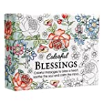 Colorful Blessings: Cards to Color an...