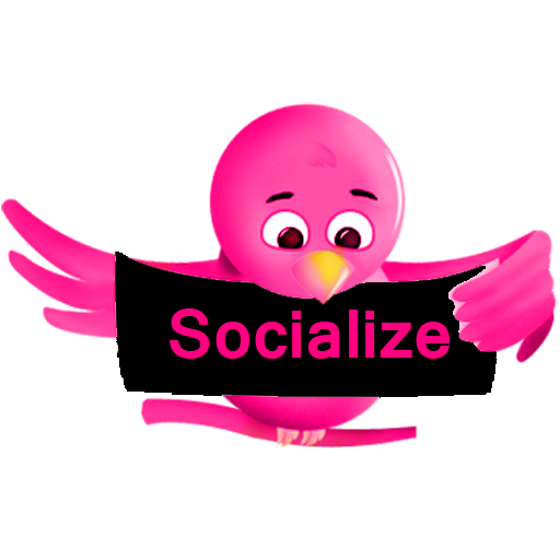 Socialize (Pink) for Twitter