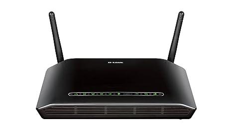 D-Link - DSL-2751/E - modem routeur sans fil + N300 ADSL2 - noir