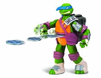 Tortues Ninja - 5535 - Figurine - Animation - Blister - Lance-projectile - Leo - 14 Cm