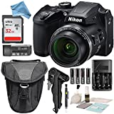 Nikon COOLPIX B500 Digital Camera along with 32GB SDHC Memory Card and DigitalAndMore Deluxe Accessory Bundle with Cleaning Kit
