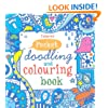 Pocket Doodling and Colouring Book: Blue Book (Usborne Art Ideas)