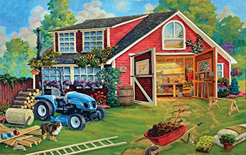 The Tool Shed a 550-Piece Jigsaw Puzzle by Sunsout Inc.