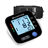 Blood Pressure Monitor Upper Arm - Digital Automatic Large Cuff BP Monitor for Home Use, 2 * 90 Memories, Storage Bag Included, FDA&CE Certificate (Color: Black, Tamaño: large)