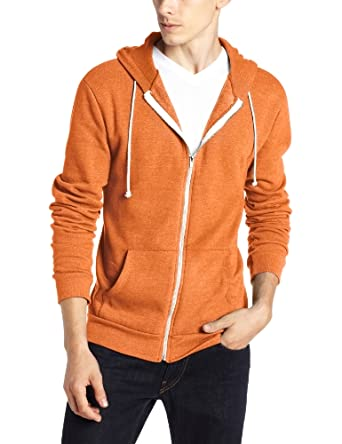 Low Price Threads 4 Thought Men's Triblend Zip Front Hoodie