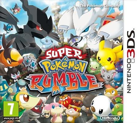 Nintendo Super Pokemon Rumble, ENG